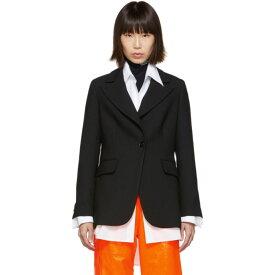 メゾン マルジェラ MM6 Maison Margiela レディース アウター スーツ・ジャケット【Black Suiting Blazer】Black