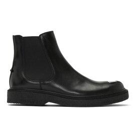 ニール バレット Neil Barrett メンズ シューズ・靴 ブーツ【Black Metal Toe Chelsea Boots】Black/Gun