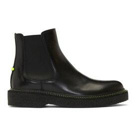 ニール バレット Neil Barrett メンズ シューズ・靴 ブーツ【Black Neon Detail Chelsea Boots】Black
