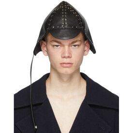ロエベ Loewe メンズ 帽子【Black Biker Cap】Black
