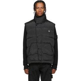 ストーンアイランド Stone Island メンズ トップス ベスト・ジレ【Black Down Puffer Vest】Black
