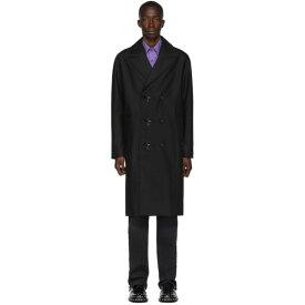 アレキサンダー ワン Alexander Wang メンズ アウター トレンチコート【Black Compact Cotton Trench Coat】Black
