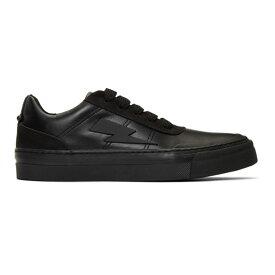 ニール バレット Neil Barrett メンズ シューズ・靴 スニーカー【Black Thunderbolt Skater Sneakers】