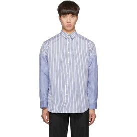 コム デ ギャルソン Comme des Garcons Shirt メンズ トップス シャツ【Blue & White Stripe Vented Sleeves Shirt】Stripe