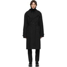 ルメール Lemaire メンズ アウター トレンチコート【Black Belt Trench Coat】Black