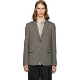 マルニ Marni メンズ スーツ・ジャケット アウター【brown wool blazer】