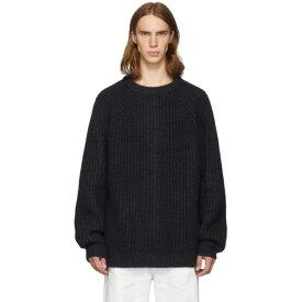 マルニ Marni メンズ ニット・セーター トップス【navy wool costan sweater】