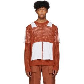 クレイググリーン Craig Green メンズ ニット・セーター トップス【orange crochet jersey sweater】