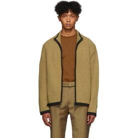 クレイググリーン Craig Green メンズ ニット・セーター トップス【beige boucle zip-up sweater】