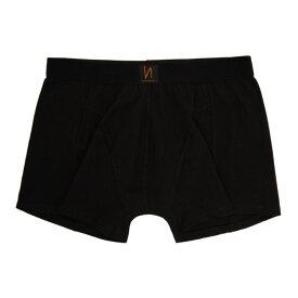 ヌーディージーンズ Nudie Jeans メンズ ボクサーパンツ インナー・下着【black solid boxer briefs】