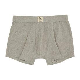 ヌーディージーンズ Nudie Jeans メンズ ボクサーパンツ インナー・下着【grey solid boxer briefs】