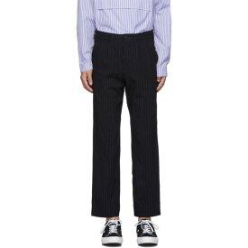 コム デ ギャルソン Comme des Garcons Homme Deux メンズ ボトムス・パンツ 【navy serge stripe trousers】