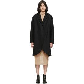 メゾン マルジェラ MM6 Maison Margiela レディース コート アウター【black wool overcoat】