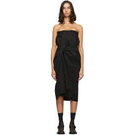 メゾン マルジェラ Maison Margiela レディース ワンピース ワンピース・ドレス【black cavalry twill dress】