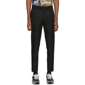 アンダーカバー Undercover メンズ スラックス ボトムス・パンツ【Black Wool Trousers】
