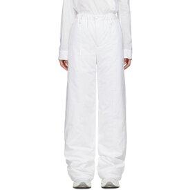 メゾン マルジェラ MM6 Maison Margiela レディース ボトムス・パンツ 【White Padded Trousers】