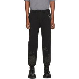 アンダーカバー Undercover メンズ スウェット・ジャージ ボトムス・パンツ【Black Valentino Edition Printed Track Pants】