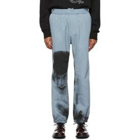 アンダーカバー Undercover メンズ スウェット・ジャージ ボトムス・パンツ【Blue A Clockwork Orange Alex Print Lounge Pants】