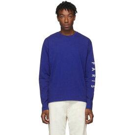 ケンゾー Kenzo メンズ 長袖Tシャツ トップス【Blue Skate Long Sleeve T-Shirt】