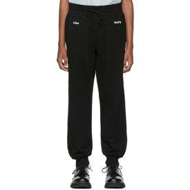 アンダーカバー Undercover メンズ スウェット・ジャージ ボトムス・パンツ【Black A Clockwork Orange Print Lounge Pants】