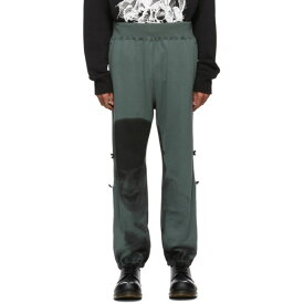 アンダーカバー Undercover メンズ スウェット・ジャージ ボトムス・パンツ【Green A Clockwork Orange Alex Image Lounge Pants】