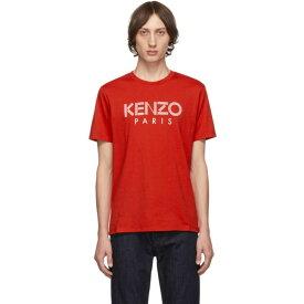 ケンゾー Kenzo メンズ Tシャツ トップス【Red Classic Logo T-Shirt】