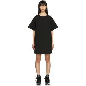 メゾン マルジェラ MM6 Maison Margiela レディース ワンピース デニム Tシャツワンピース ワンピース・ドレス【Black Denim T-Shirt Dress】Black