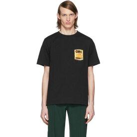 ルメール Lemaire メンズ Tシャツ トップス【Black Can Edition Vitamin C T-Shirt】Black