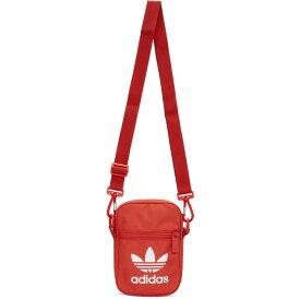 アディダス adidas Originals メンズ メッセンジャーバッグ バッグ【Red Trefoil Festival Bag】Lush red