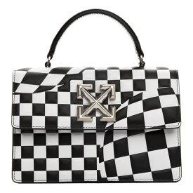 オフホワイト Off-White レディース バッグ 【Black & White Check Jitney 1.4 Bag】Black no color