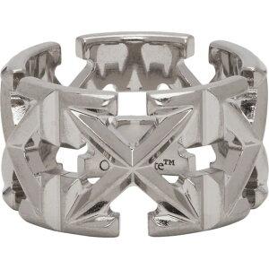 オフホワイト Off-White レディース 指輪・リング ジュエリー・アクセサリー【Silver Arrows Ring】Silver