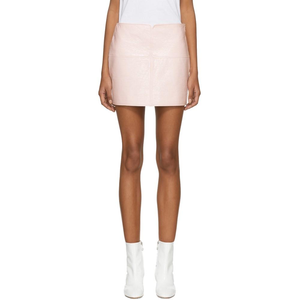 クレージュ レディース スカート ミニスカート【Pink Vinyl Miniskirt】
