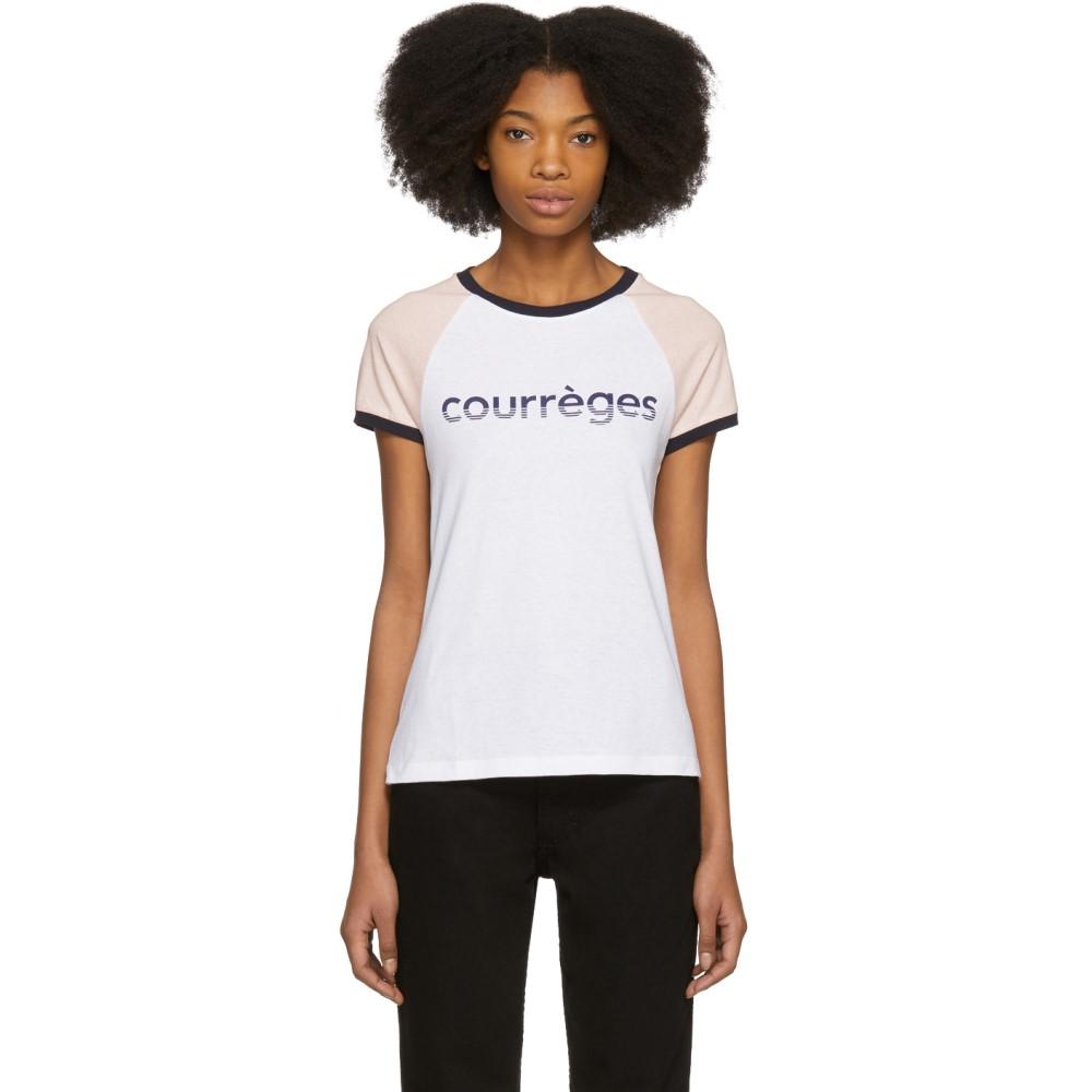 クレージュ レディース トップス Tシャツ【Tricolor Vintage Logo T-Shirt】