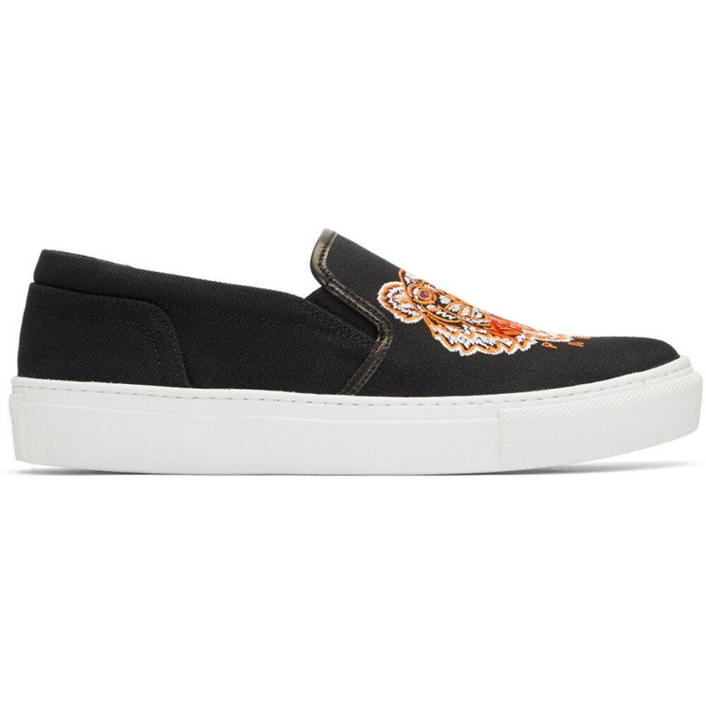 ケンゾー レディース シューズ・靴 スニーカー【Black Tiger K-Skate Slip-On Sneakers】