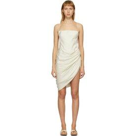 ジャックムス Jacquemus レディース ワンピース ワンピース・ドレス【SSENSE Exclusive Off-White 'La Robe Saudade' Dress】Off white