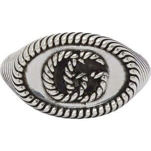 グッチ Gucci レディース 指輪・リング ピンキーリング ジュエリー・アクセサリー【Silver Double G Marmont Pinky Ring】Silver