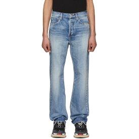 バレンシアガ メンズ ボトムス・パンツ ジーンズ・デニム【Blue Straight-Leg Jeans】