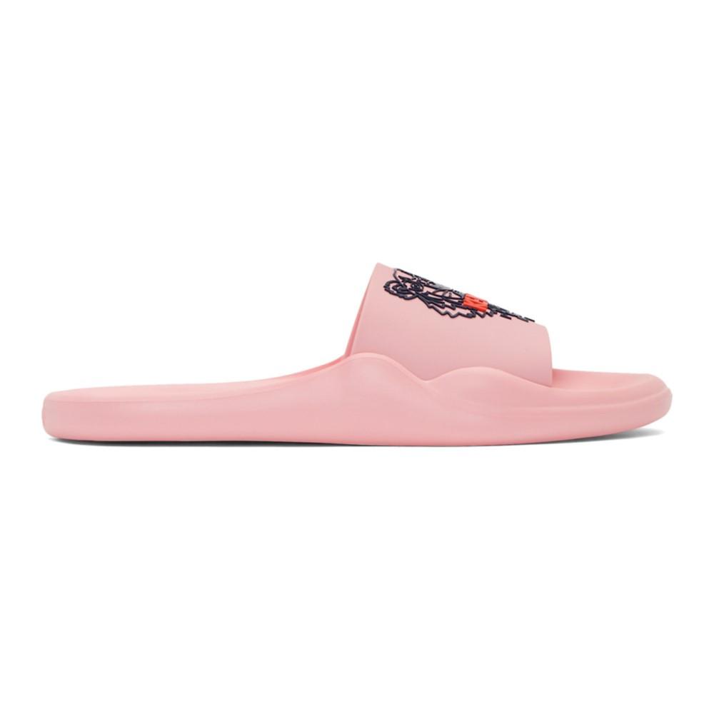 ケンゾー レディース シューズ・靴 サンダル・ミュール【Pink Tiger Slides】