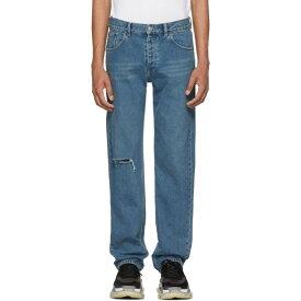 バレンシアガ メンズ ボトムス・パンツ ジーンズ・デニム【Blue Knee Hole Archetype Jeans】