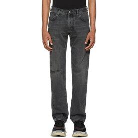 バレンシアガ メンズ ボトムス・パンツ ジーンズ・デニム【Grey Knee Hole Archetype Jeans】