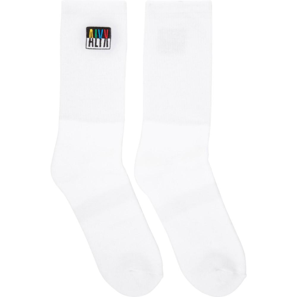 アリクス レディース インナー・下着 ソックス【White Modello B Socks】