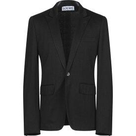 ロエベ LOEWE メンズ スーツ・ジャケット アウター【blazer】Black