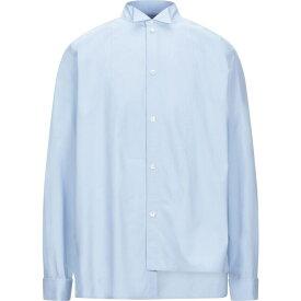 ロエベ LOEWE メンズ シャツ トップス【solid color shirt】Sky blue