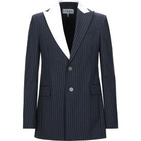 ロエベ LOEWE メンズ スーツ・ジャケット アウター【blazer】Dark blue