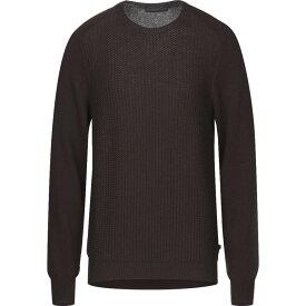 トラサルディ TRUSSARDI JEANS メンズ ニット・セーター トップス【sweater】Dark brown
