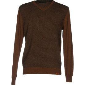 トラサルディ TRUSSARDI JEANS メンズ ニット・セーター トップス【sweater】Camel