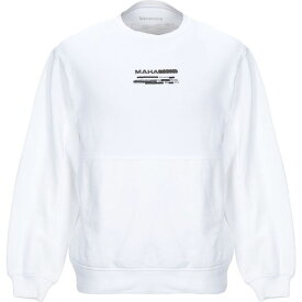 マハリシ MAHARISHI メンズ スウェット・トレーナー トップス【sweatshirt】White