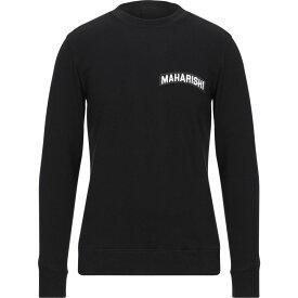 マハリシ MAHARISHI メンズ スウェット・トレーナー トップス【sweatshirt】Black
