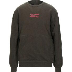 マハリシ MAHARISHI メンズ スウェット・トレーナー トップス【sweatshirt】Military green