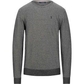 トラサルディ TRUSSARDI JEANS メンズ ニット・セーター トップス【sweater】Black